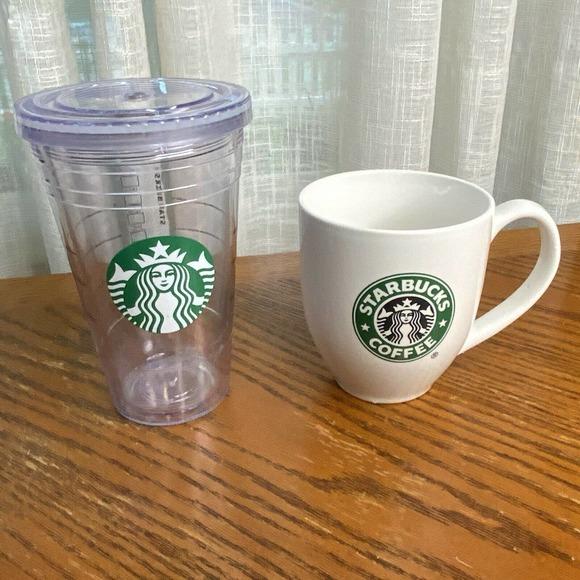 Starbucks Siren Cold Cup, 16 oz Hot Mug 15.3 oz
